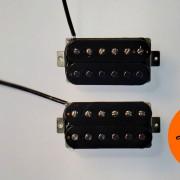 Guitar pickups humbucker AFD Black