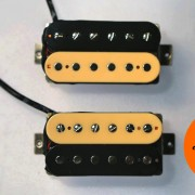 Guitar pickups humbucker AFD Zebra