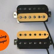 Guitar pickups Brown Sound Zebra